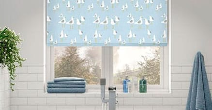 pvc roller blinds for bathrooms