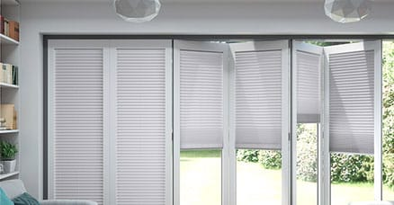 bifold blinds for patio doors
