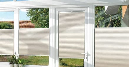 conservatory blinds for patio doors