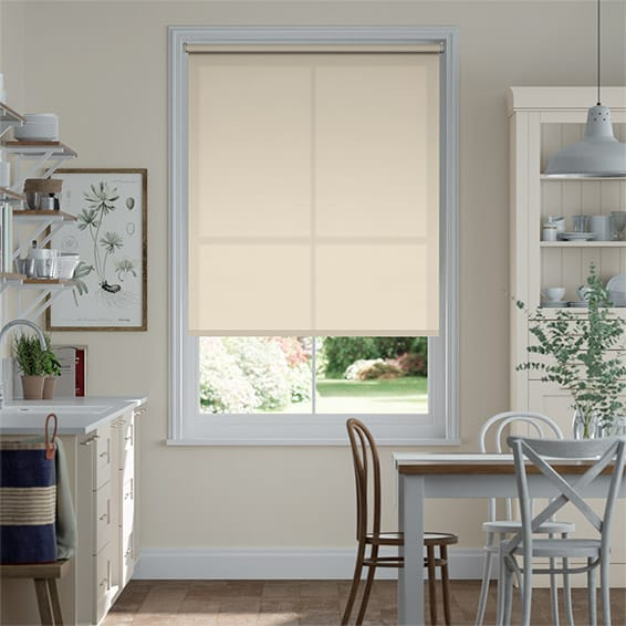 Antiviral Parchment Roller Blind