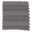 BiFold ClickFIT Storm Grey Pleated Blind slat image