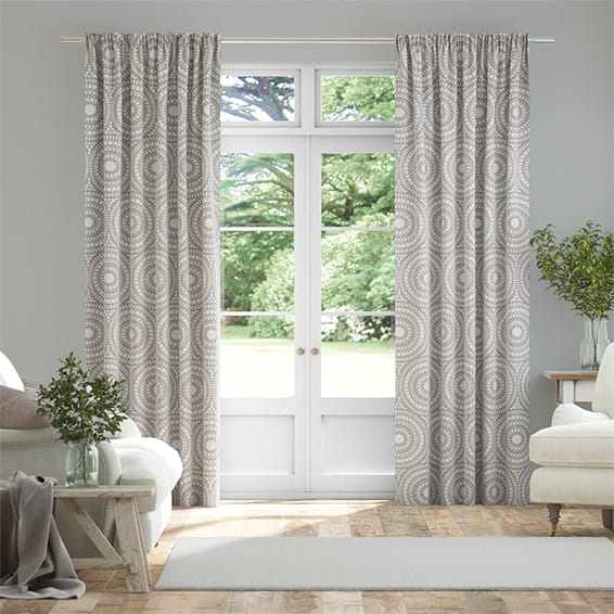 Cadencia Silver Curtains
