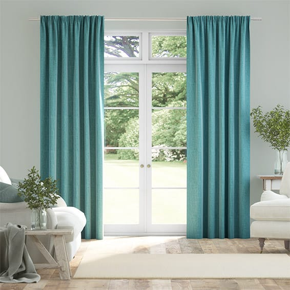 Cavendish Aqua Curtains