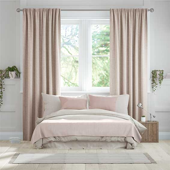 Cavendish Warm Blush Curtains
