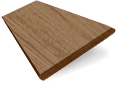 Chestnut Faux Wood Blind - 50mm Slat slat image