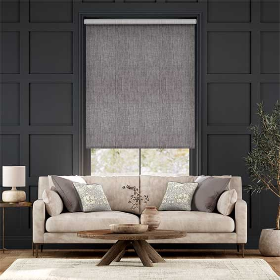 Thermal Luxe Dimout Cinder Roller Blind