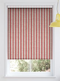 Choices Twill Stripe Linen Party Red thumbnail image