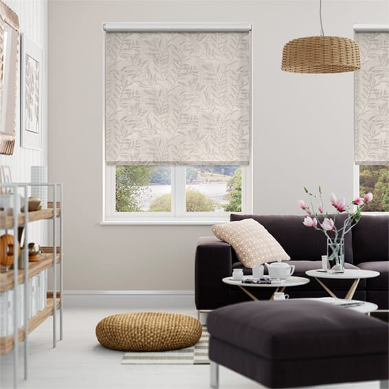 Choices Vine Limestone Roller Blind