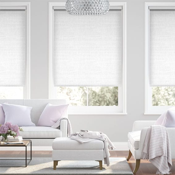 Concordia Blackout Bright White Roller Blind