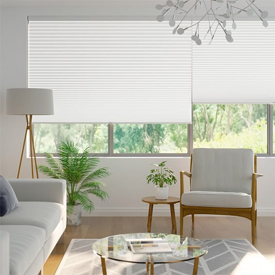 DuoShade-Max Cordless Cotton White Thermal Blind