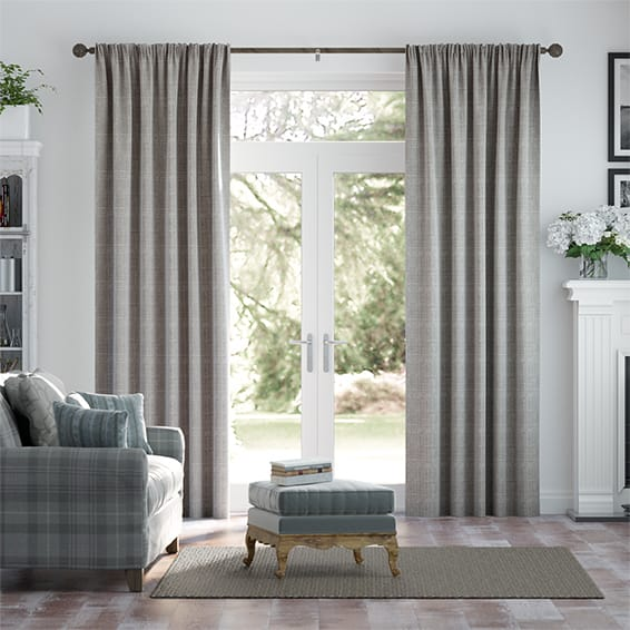 Cotswold Flannel Grey Curtains