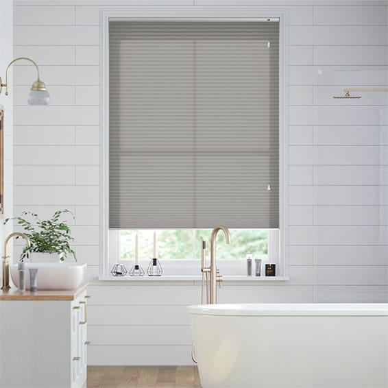 DuoLight Gainsboro Grey Thermal Blind