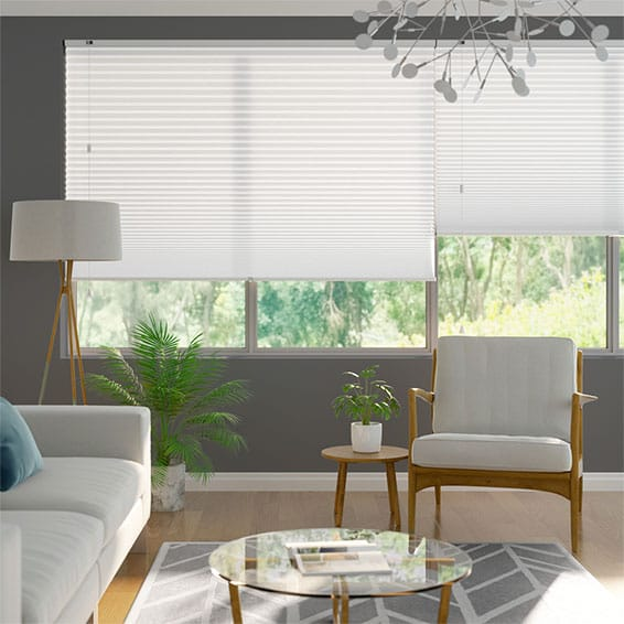 DuoLight-Max Cotton White Thermal Blind