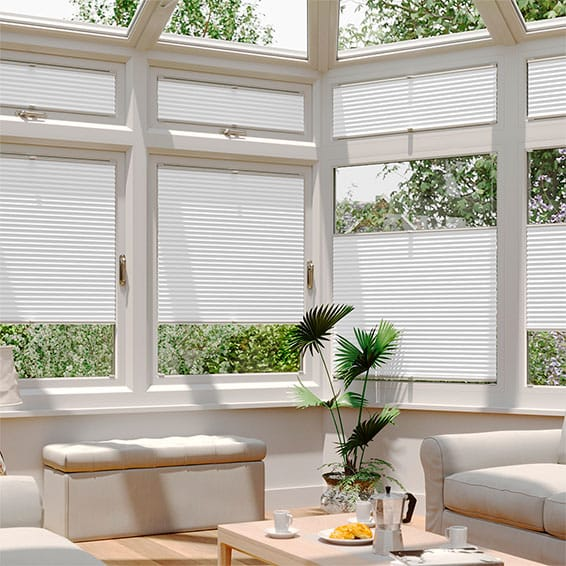 DuoLight Pristine White EasiFIT Thermal Blind