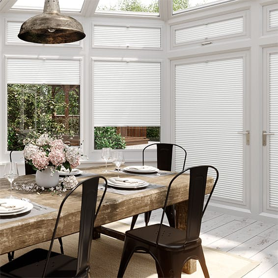 DuoLight Pristine White PerfectFIT Thermal Blind