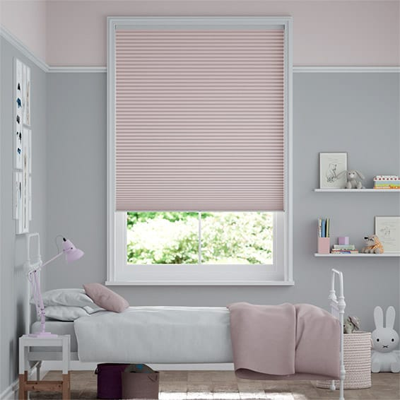 DuoShade Cordless Baby Blush Thermal Blind