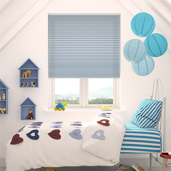 DuoShade Cordless Little Boy Blue Thermal Blind