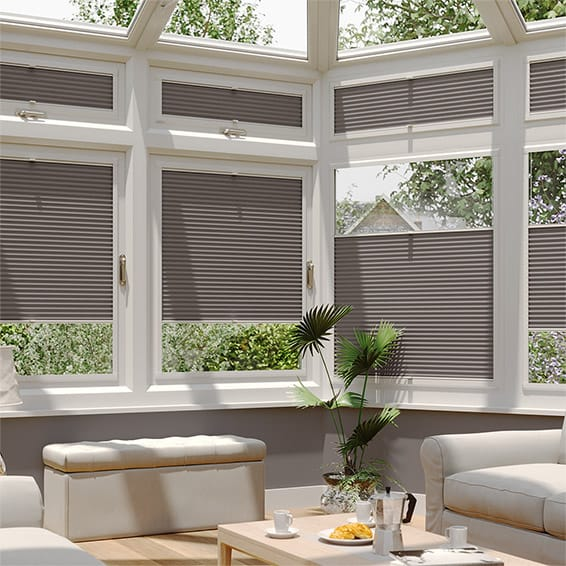 DuoShade Dark Grey PerfectFIT Thermal Blind