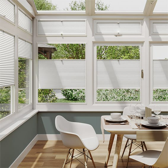DuoShade White Dove PerfectFIT Thermal Blind