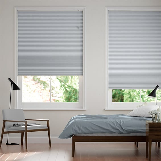 DuoShade Glacier Blue Thermal Blind