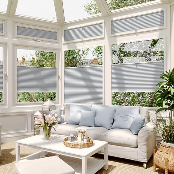 DuoShade Glacier Blue  PerfectFIT Thermal Blind