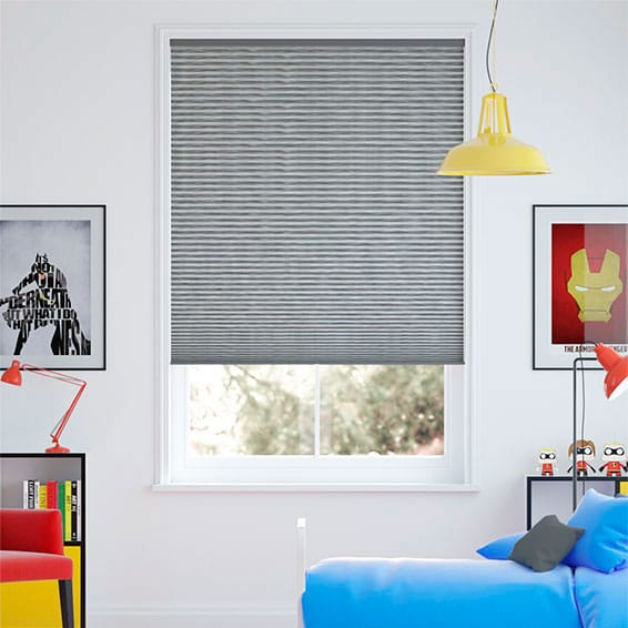 DuoShade Cordless Graphite Thermal Blind