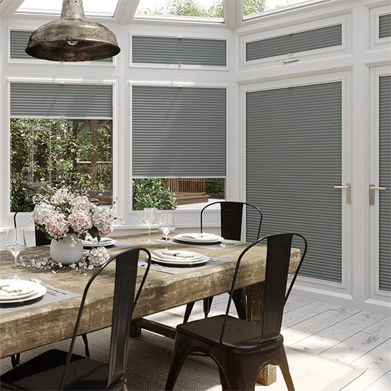 DuoShade Nickel Grey PerfectFIT Thermal Blind