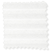 DuoVoile Snow Pleated Blind slat image
