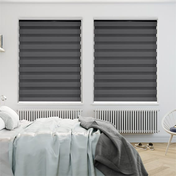 Enjoy Dimout Gunmetal Grey Roller Blind