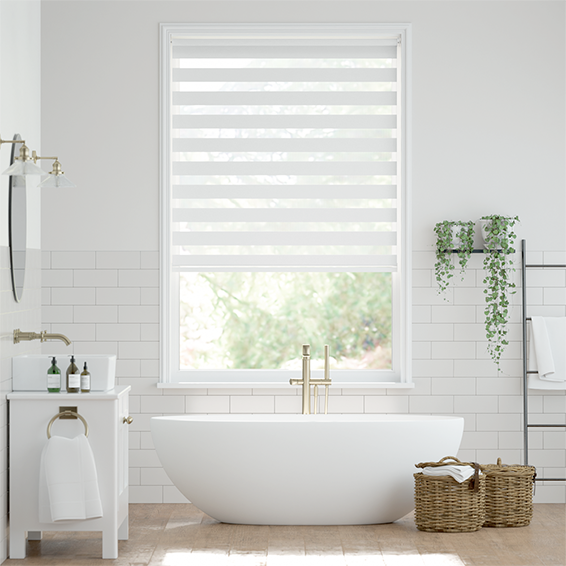 Enjoy Soft White Roller Blind