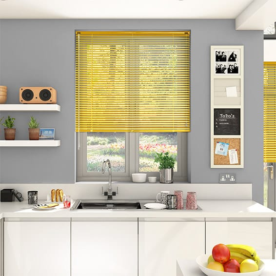 Essence English Mustard Venetian Blind - 25mm Slat