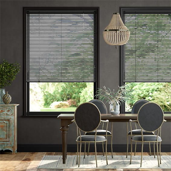 Essence Espresso Venetian Blind - 25mm Slat