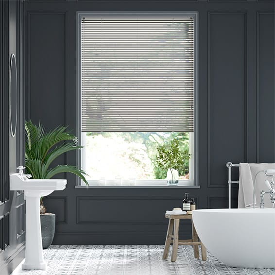 Essence Silver Venetian Blind - 25mm Slat