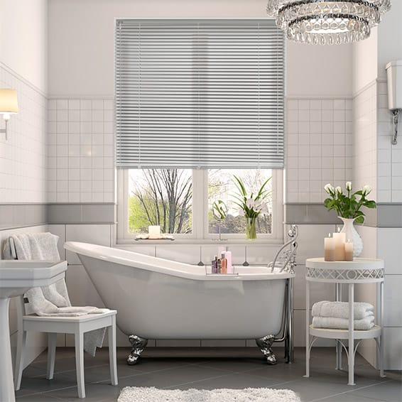 Essence Softest Grey Venetian Blind - 25mm Slat