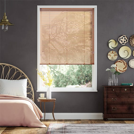 Essence Warm Copper Venetian Blind - 25mm Slat