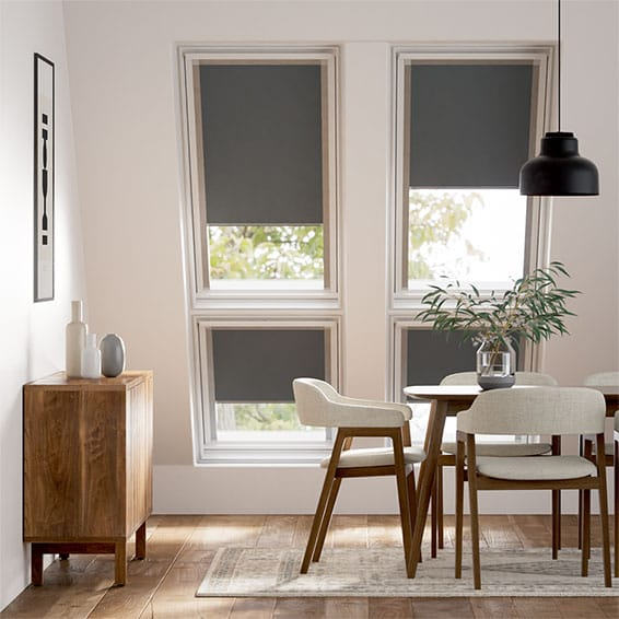 Expressions Iron Grey Blackout Blind for Fakro ® Windows