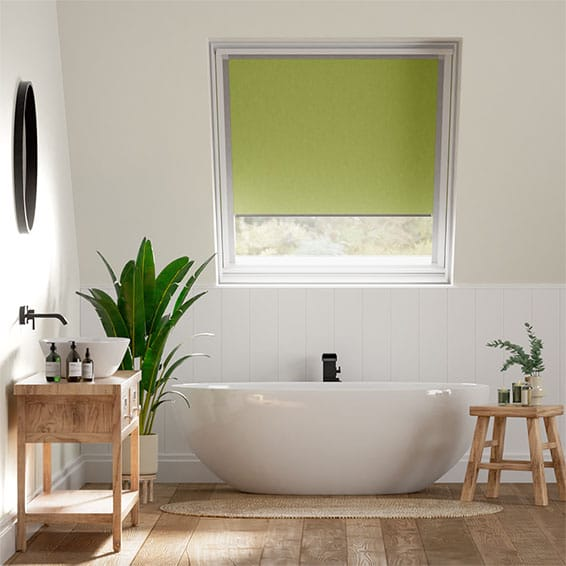 Expressions Spring Green Blackout Blind for Dakstra/Rooflite Windows
