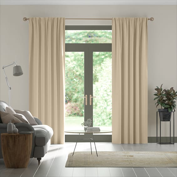 Fine Velvet Cafe Au Lait Curtains