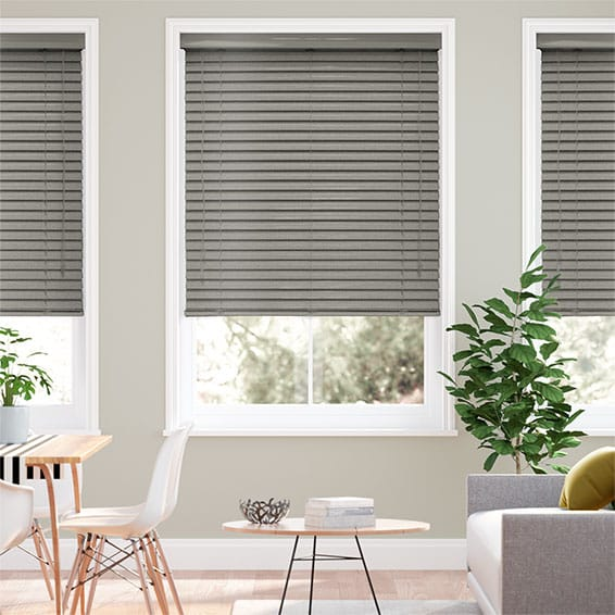Grande Editions Graphite Venetian Blind - 50mm Slat