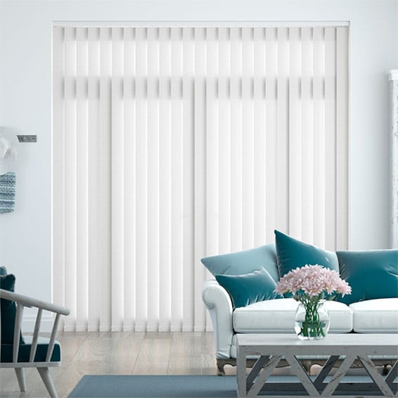 Harrogate Brilliant White Vertical Blind