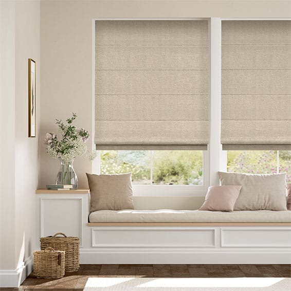 Harrow Barley Roman Blind