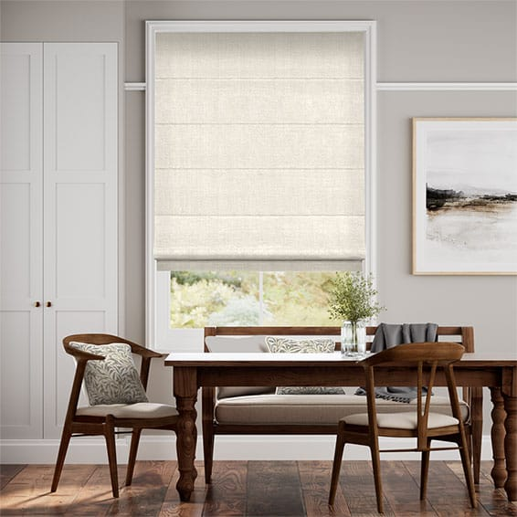 Harrow Cream Roman Blind