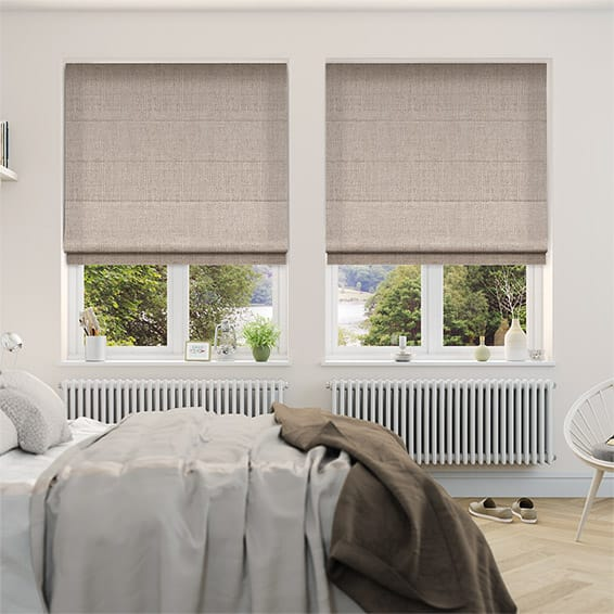Henry Pale Gold Roman Blind