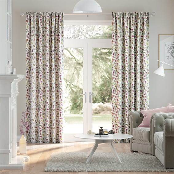 Leafy Grove Berry Curtains