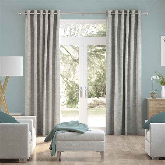Liliana Moon Grey Curtains