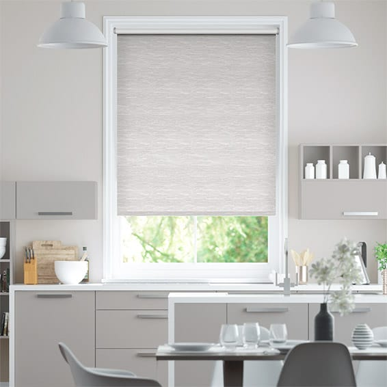 Lysander Blackout Starlight Grey Roller Blind