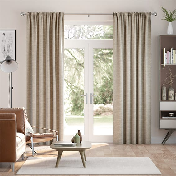 Mallay Wicker Brown Curtains
