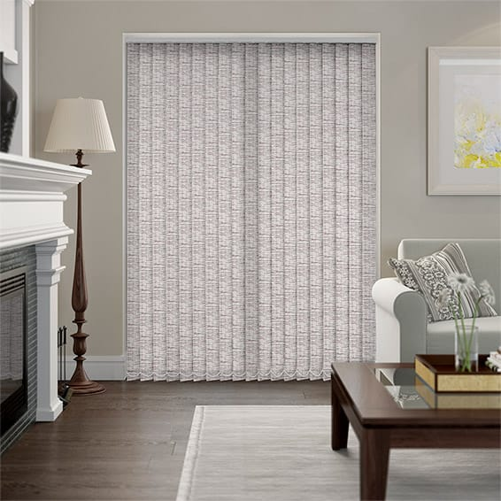 Marco Ripple Plum Vertical Blind