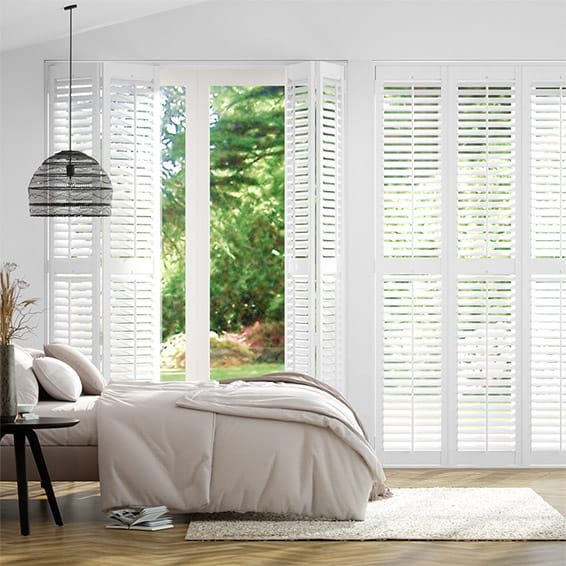Mayfair Brilliant White Shutter Blinds