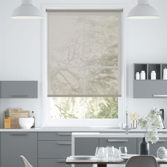 Oculus City Grey  Magic Screen Roller Blind